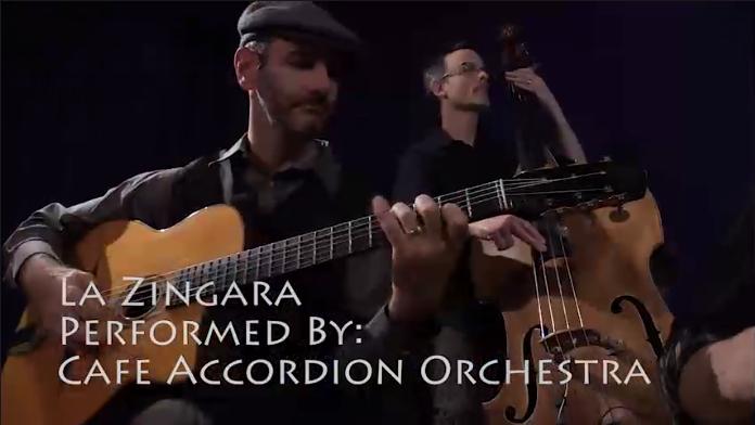 Video Thumbnail - Cafe Accordion Orchestra - La Zingara