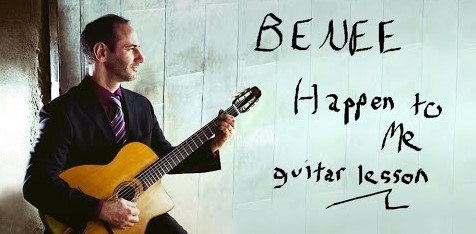 Guitar lesson cover image - BENEE - Happen to Me